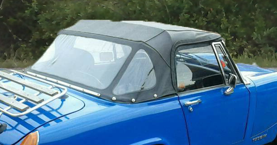 Convertible Rear Window Plastic Cabriolet And Soft Tops